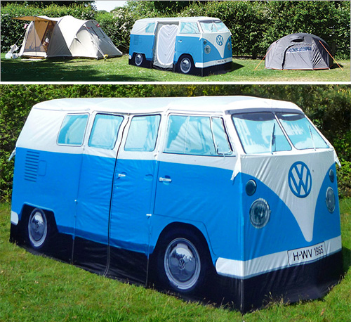VW Camper Van Tent (Images courtesy Firebox)