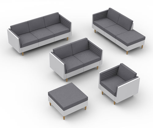 Versatile Convertible Seating from 608 Design