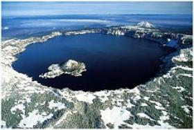 Image of Crater Lake located in