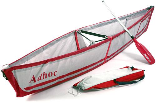 Adhoc Folding Canoe (Image courtesy designboom)