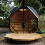 Habitable Polyhedron: Garden Office by Manual Villa