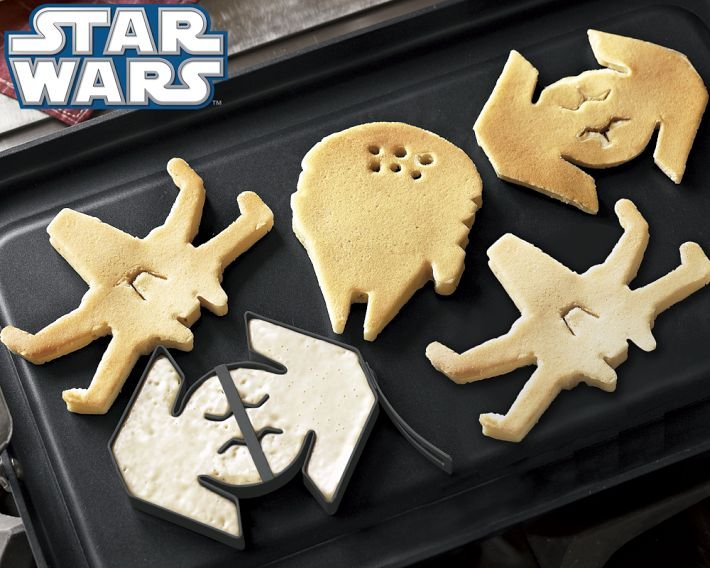 <i>Star Wars</i>™ Vehicles Pancake Molds