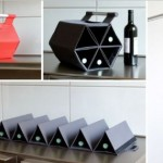 Roll Up Hexagonal Wine Carrying Case