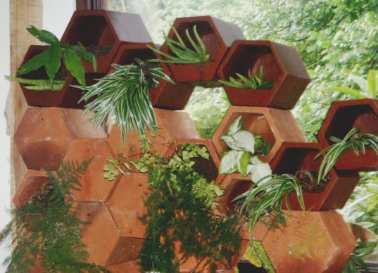 Bali Eco Green Wall, bali eco center, bali ecological center, green wall, planter walls, modular planters, bali