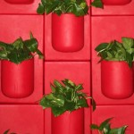 """Wall of Pots"" Vertical Gardening Units"