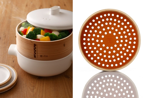 Skim Milk: Steamer Set by Office for Product Design for JIA Inc.