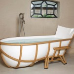 Stylish Lounging Bath Tub