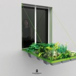 Draw Bridge Style Planters Added Micro Gardening to Your Window