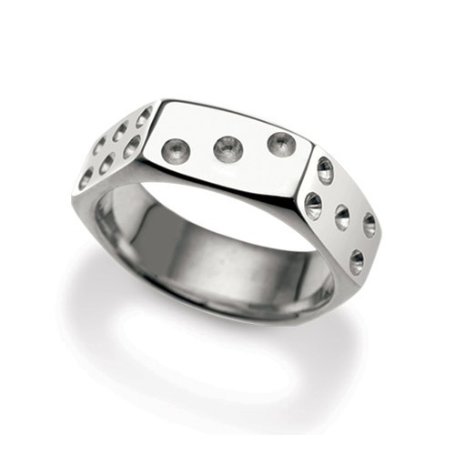 Nut Dice Ring - Click Image to Close