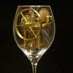 Breathingtaking Mechanical Creations in a Wine Glass