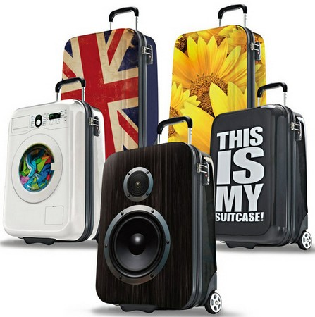 suitsuitcases small SuitSuit Cases guarantee that your baggage stands out on the conveyor belt