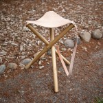 Tripod Stool You Can Build Yourself for Summer