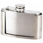 Shoot From the Hip With a Belt Buckle Liquor Flask