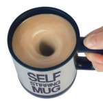 Take Lazy to A New Level With Self Stirring Coffee Mug