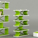 Stylish Collapsible Shelving