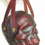 Leather Skull Bag