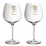Musically Tuned and Graduated Wineglasses