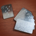 Card Shark, Becomes Card Sharp With Metal Playing Cards