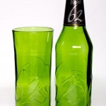 "Glass Sculpture Creates Gorgeous Glassware from ""Junk"""