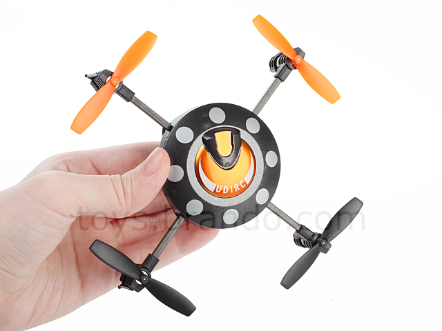 Tiny 2.4GHz Rechargeable 6 AXES GYRO RC Somersault UFO