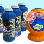 Bacon Flavored Bubble Machine, For Dogs (Maybe)