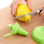Reusable Nozzle Converts Your Lemon to Spritzer