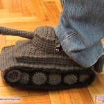Blitzkrieg Your Way Around the House With Panzer Slippers