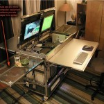 Hideous But Ingenius IKEA Hacked Desk