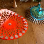 Gorgeous Laser Cut Spinning Tops