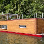 Modernized Houseboat Cuts No Corners