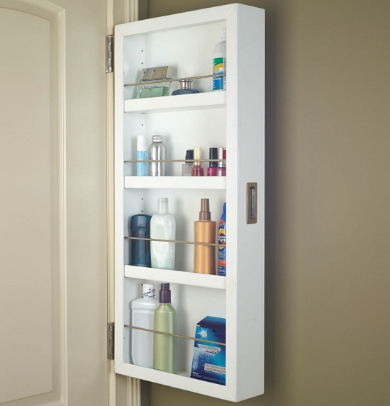 The Back of the Door Cabinet will take up some wasted space