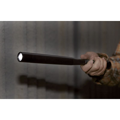 Self Defense 200 Lumen Baseball Bat/Flashlight — For When You Know You're Not Safe