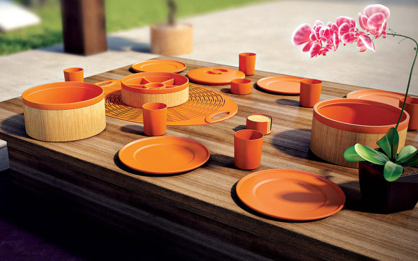 Combine: An Eco Chic Picnic Set from Bold a design company in style fashion home furnishings  Category