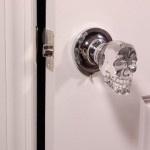 Crystal Skull Door Knobs