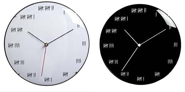 Alcatraz Wall Clock Alcatraz Wall Clock – time goes ever on and on