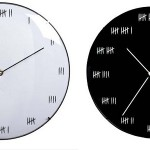 Hash Mark Wall Clock