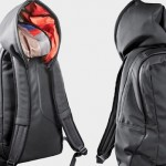 Backpack With Built in Hoodie
