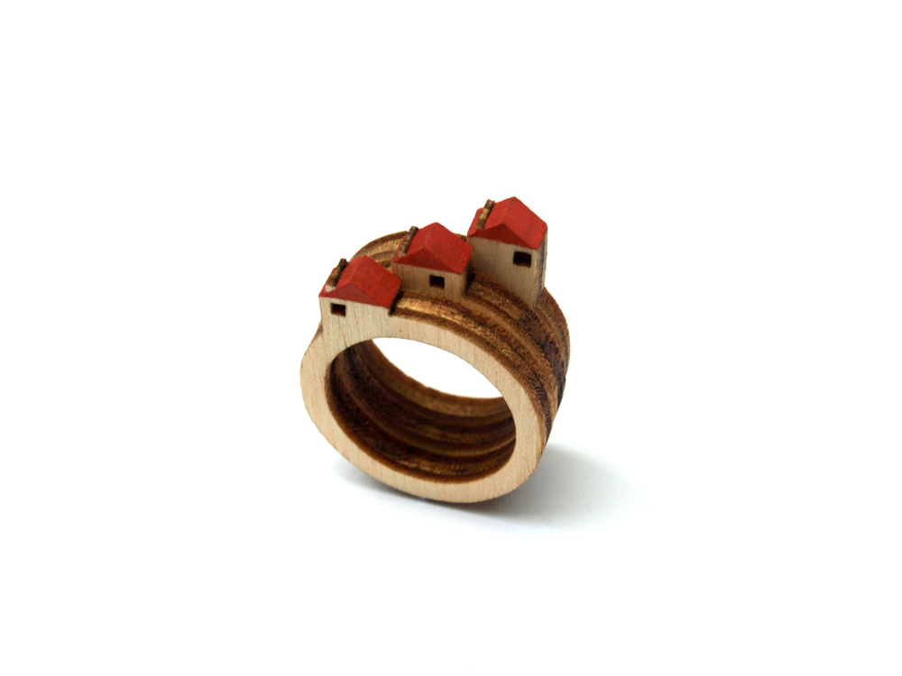 A Tiny Landscape on Your Finger: Birch Rings by Clive Roddy