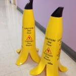 Banana Wet Floor Signs