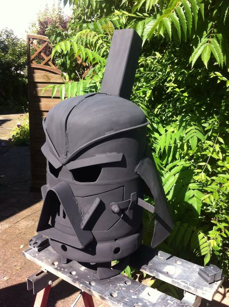 Picture of Vader Gas Bottle Log Burner