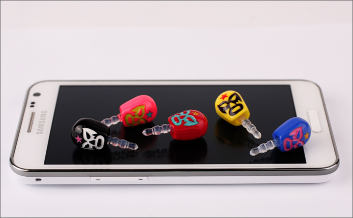 Smart Phone Earjack Charm Let S You Get Your Lucha Libre