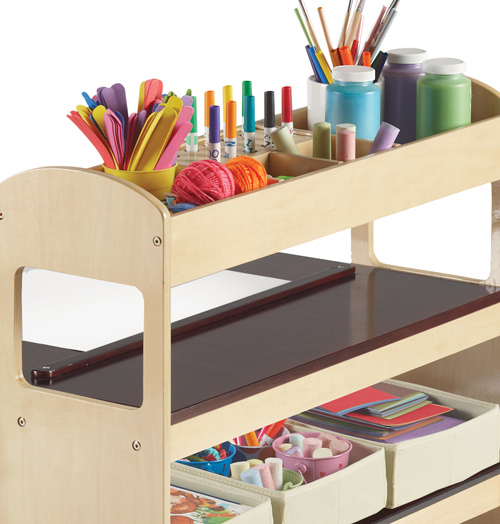creative craft table for children did ya see. Black Bedroom Furniture Sets. Home Design Ideas
