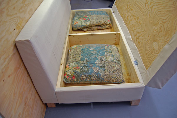 How to create your own storage compartment sofa did ya see for Build your own sectional sofa plans