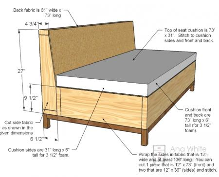 How to Create Your Own Storage Compartment Sofa - Did Ya See?